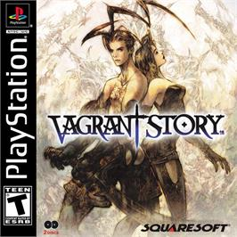Box cover for Vagrant Story on the Sony Playstation.