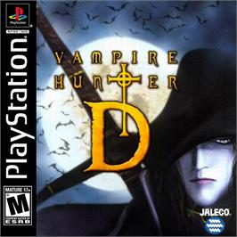 Box cover for Vampire Hunter D on the Sony Playstation.