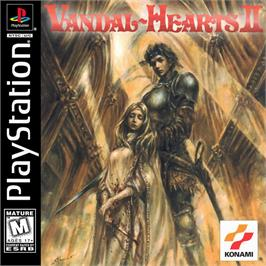 Box cover for Vandal Hearts II on the Sony Playstation.