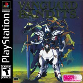 Box cover for Vanguard Bandits on the Sony Playstation.