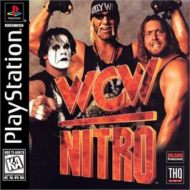 Box cover for WCW Nitro on the Sony Playstation.