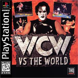Box cover for WCW vs. the World on the Sony Playstation.