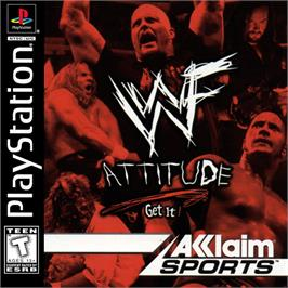 Box cover for WWF Attitude on the Sony Playstation.