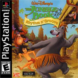 Box cover for Walt Disney's The Jungle Book: Rhythm n' Groove on the Sony Playstation.