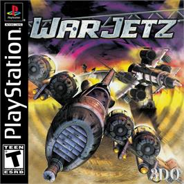 Box cover for WarJetz on the Sony Playstation.
