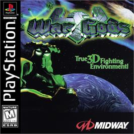 Box cover for War Gods on the Sony Playstation.