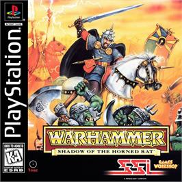 Box cover for Warhammer: Shadow of the Horned Rat on the Sony Playstation.