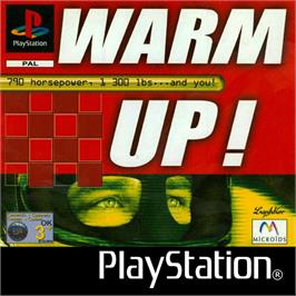 Box cover for Warm Up! on the Sony Playstation.