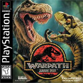 Box cover for Warpath: Jurassic Park on the Sony Playstation.