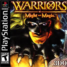 Box cover for Warriors of Might and Magic on the Sony Playstation.