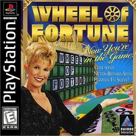 Box cover for Wheel of Fortune on the Sony Playstation.