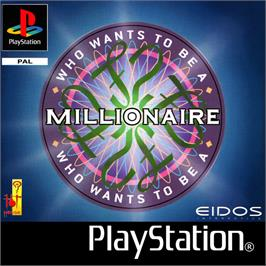 Box cover for Who Wants To Be A Millionaire on the Sony Playstation.