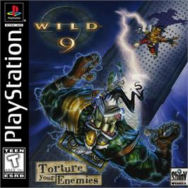 Box cover for Wild 9 on the Sony Playstation.