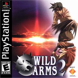 Box cover for Wild Arms 2 on the Sony Playstation.