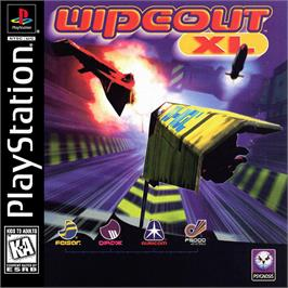 Box cover for Wipeout XL on the Sony Playstation.