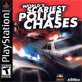 Box cover for World's Scariest Police Chases on the Sony Playstation.