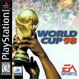 Box cover for World Cup 98 on the Sony Playstation.