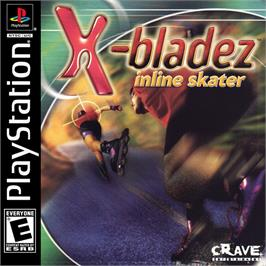 Box cover for X-Bladez: Inline Skater on the Sony Playstation.