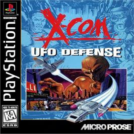 Box cover for X-COM: UFO Defense on the Sony Playstation.