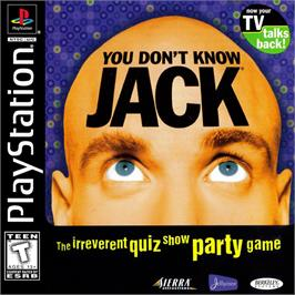 Box cover for You Don't Know Jack on the Sony Playstation.