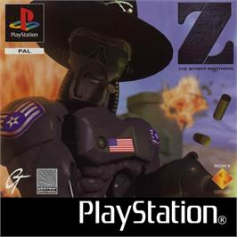 Box cover for Z on the Sony Playstation.