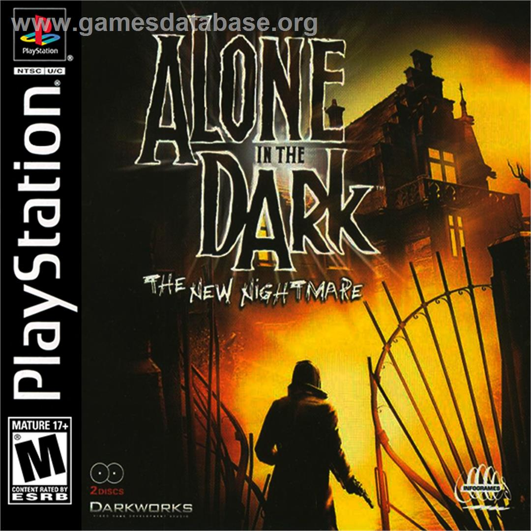 Alone In The Dark The New Nightmare Sony Playstation Artwork