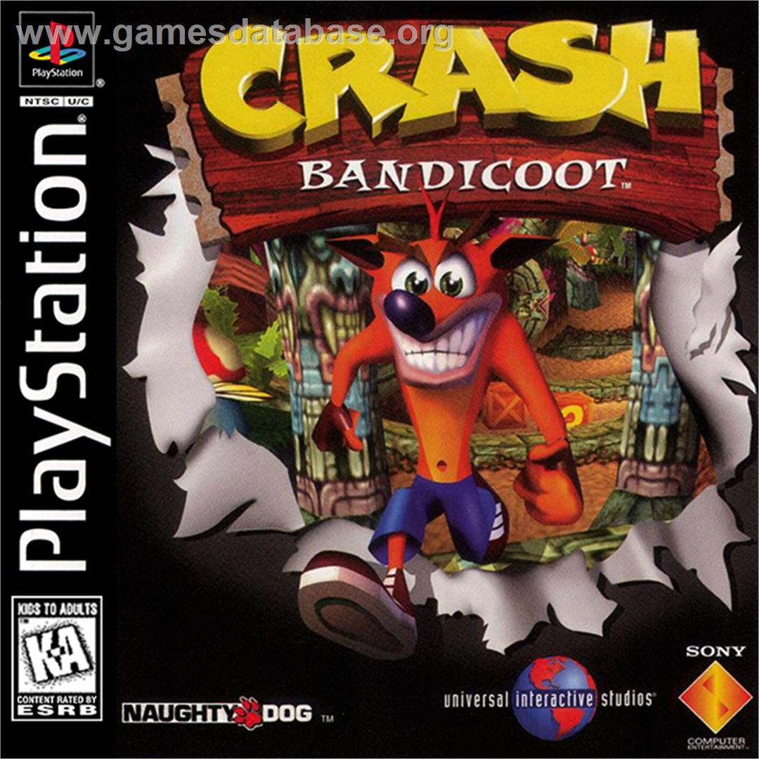 Crash Bandicoot - Sony Playstation