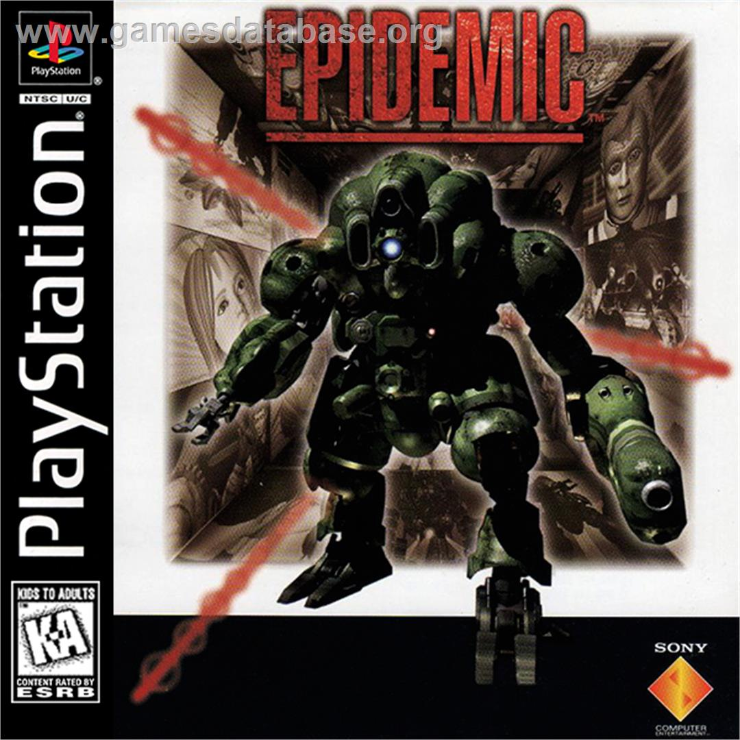 Epidemic - Sony Playstation - Artwork - Box