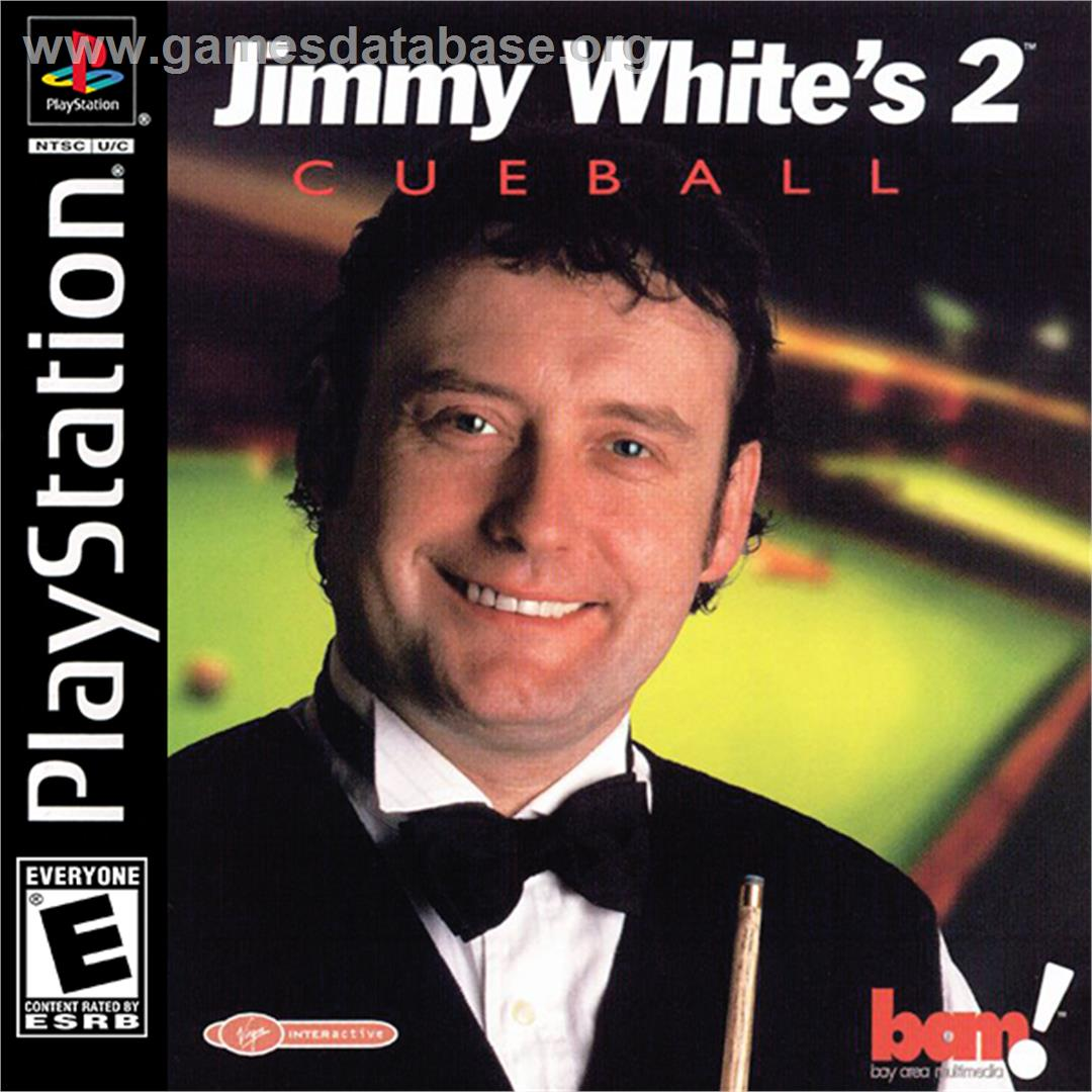 Box cover for Jimmy White's 2: Cueball on the Sony Playstation. - Jimmy_White-s_2-_Cueball_-_2000_-_BAM!_Entertainment