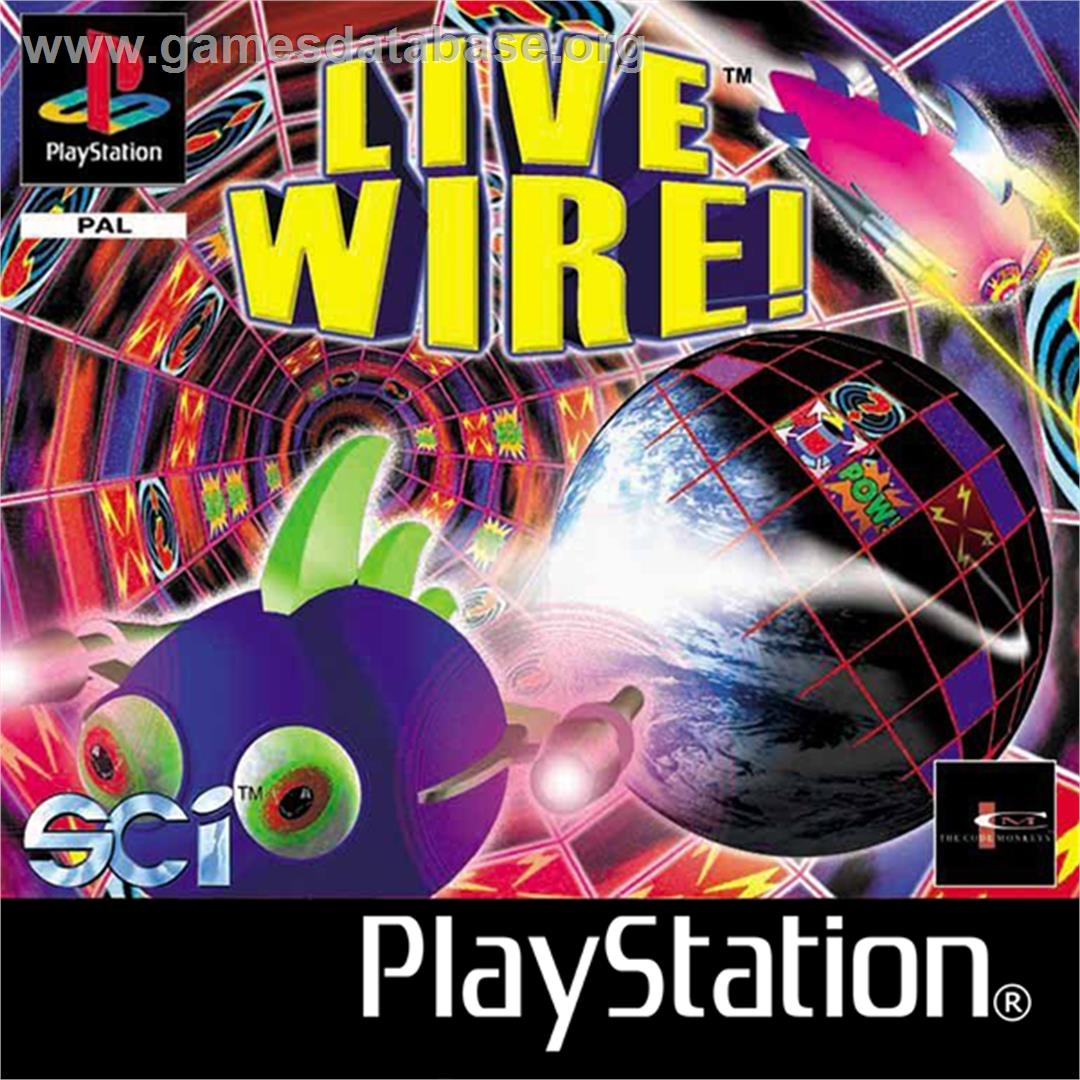 Live Wire! - Sony Playstation - Artwork - Box