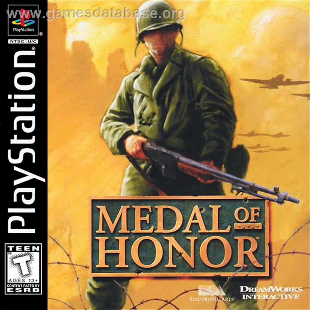 Medal of Honor / Medal of Honor: Underground - Sony Playstation - Artwork - Box