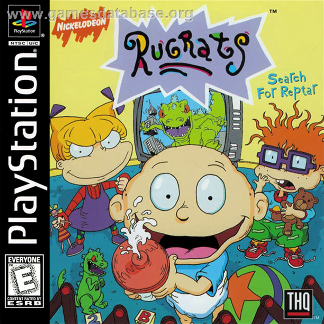 Rug Tas Dames : Rugrats search for reptar sony playstation games database
