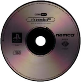 Artwork on the CD for Air Combat on the Sony Playstation.