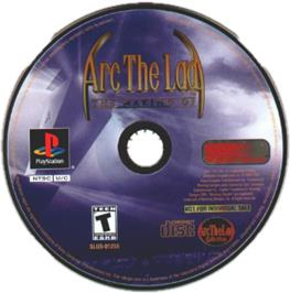 Artwork on the CD for Arc the Lad Collection on the Sony Playstation.
