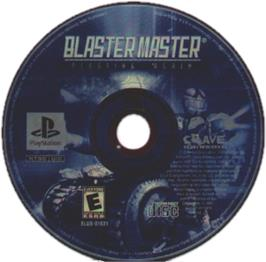 Artwork on the CD for Blaster Master: Blasting Again on the Sony Playstation.