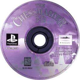 Artwork on the CD for Chessmaster 3-D on the Sony Playstation.