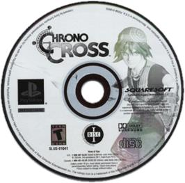Artwork on the CD for Chrono Cross on the Sony Playstation.