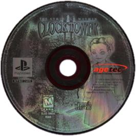 Artwork on the CD for Clock Tower 2: The Struggle Within on the Sony Playstation.