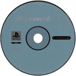 Artwork on the CD for Colin McRae Rally 2.0 on the Sony Playstation.