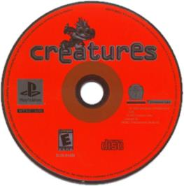 Artwork on the CD for Creatures on the Sony Playstation.