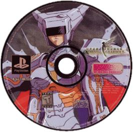 Artwork on the CD for Elemental Gearbolt on the Sony Playstation.