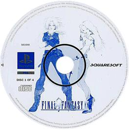 Artwork on the CD for Final Fantasy IX on the Sony Playstation.