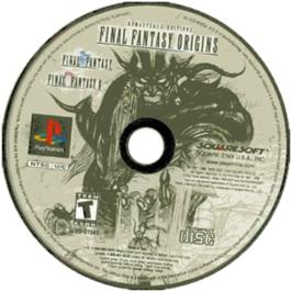 Artwork on the CD for Final Fantasy Origins on the Sony Playstation.
