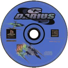 Artwork on the CD for G Darius on the Sony Playstation.