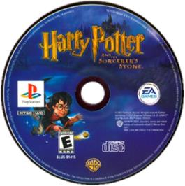 Artwork on the CD for Harry Potter and the Sorcerer's Stone on the Sony Playstation.