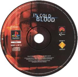 Artwork on the CD for In Cold Blood on the Sony Playstation.