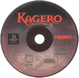 Artwork on the CD for Kagero: Deception II on the Sony Playstation.