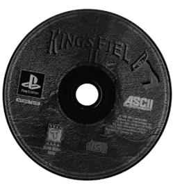 Artwork on the CD for King's Field II on the Sony Playstation.