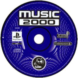 Artwork on the CD for MTV: Music Generator on the Sony Playstation.