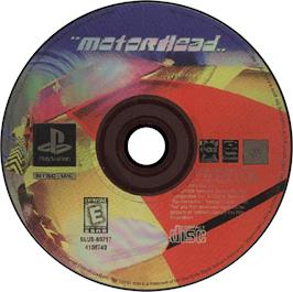 Artwork on the CD for Motorhead on the Sony Playstation.